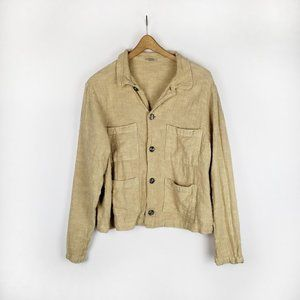 CP Shades boxy button front jacket with pockets M